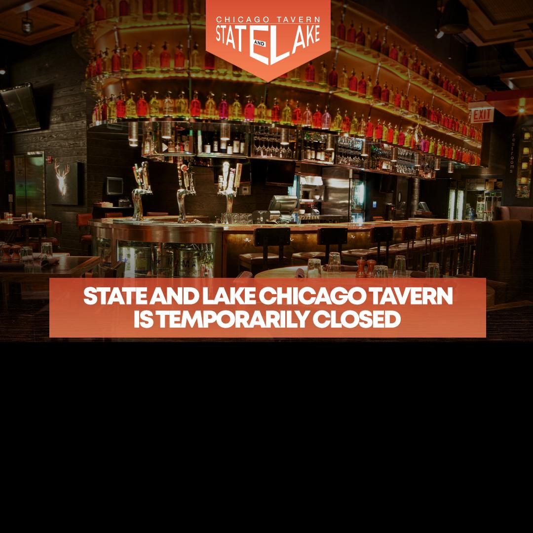 State And Lake Temrparorily Closed