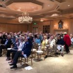 Crowd photo at the Annual Meeting.