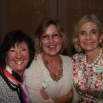 Carlene Ziegler, Fran Hoak and Irene Shaw at the Annual Meeting.