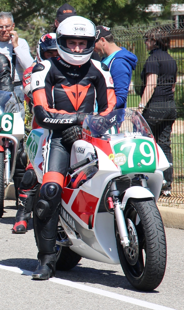 Vincent Levieux (Yamaha TZ), categoria YC 250. (ICGP Brasil)