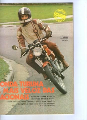 Testando motos na Auto Esporte. Foto Acervo Marazzi / Reprodução Auto Esporte / Motostory