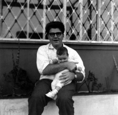 Eu e meu pai em 1959. Foto Acervo Marazzi / Motostory