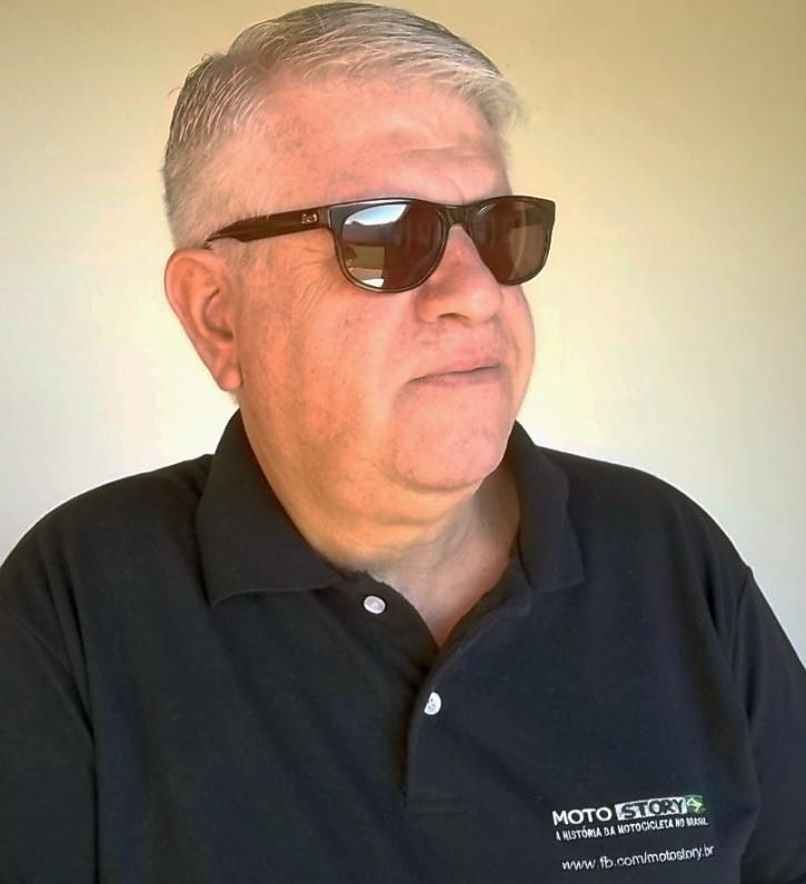 Edson Lobo, clássico, Embaixador e colaborador de Motostory. Foto: Acervo pessoal