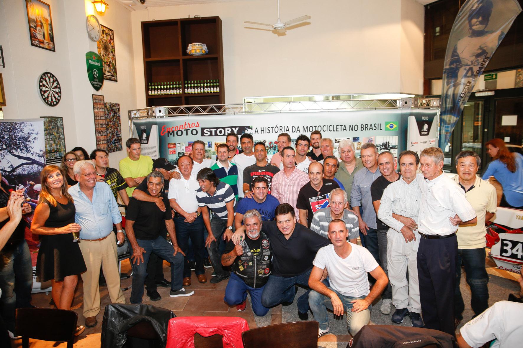 04/02/2015 - 1o Encontro Motostory: Daytona 83 349 - Foto: Haroldo Nogueira / Motostory