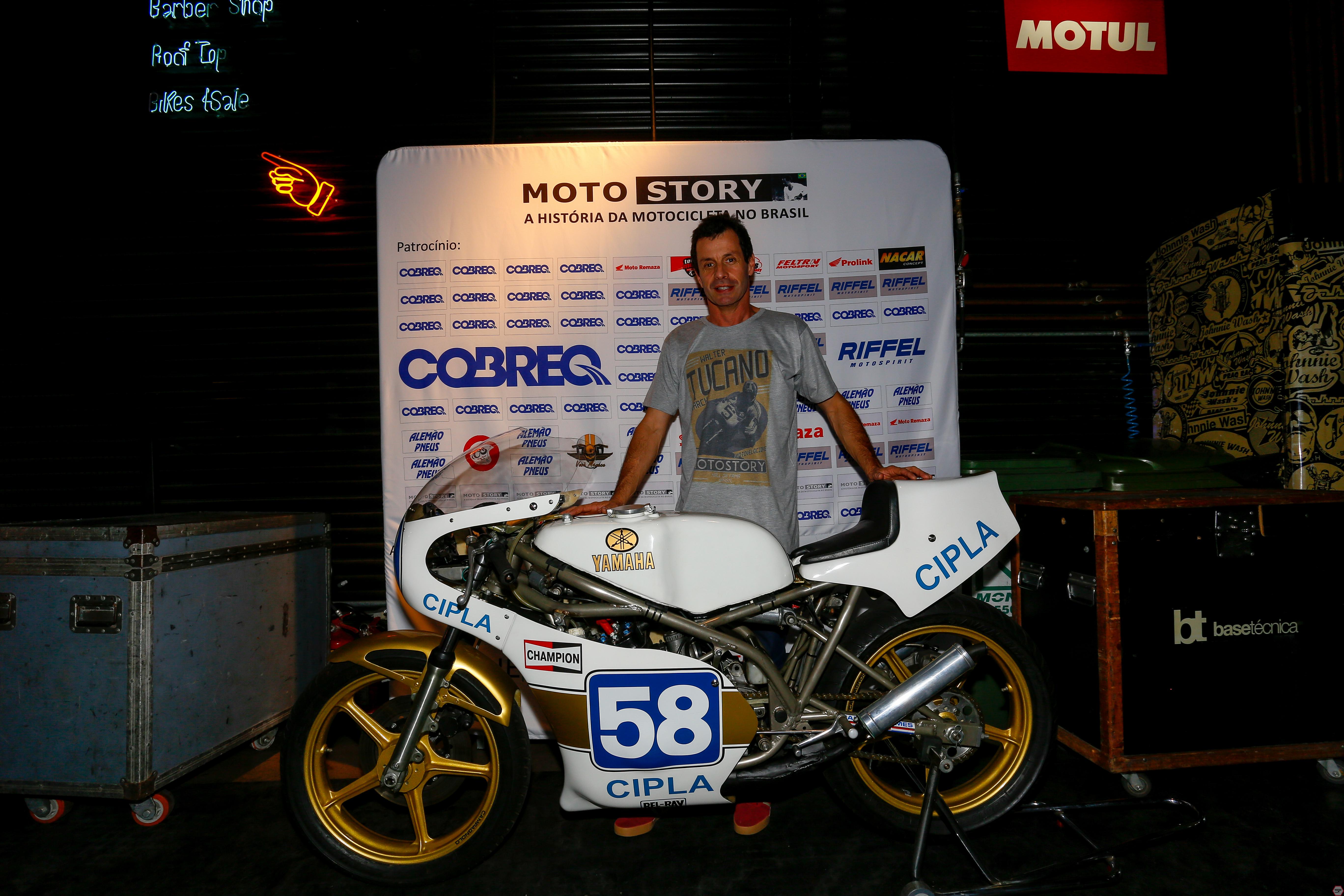 José Luiz Gonsalves, Embaixador Motostory, em noite de Encontros Motostory: Os TZudos