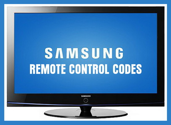 samsung tv remote codes
