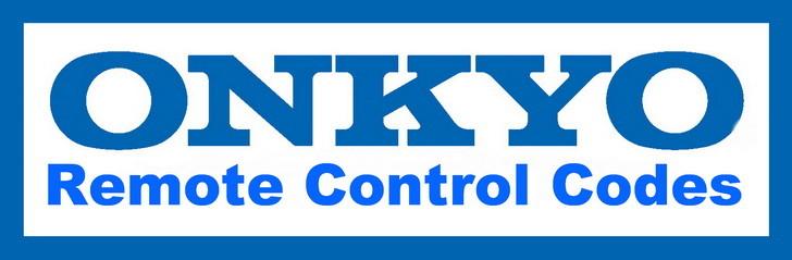 Onkyo Remote Control Codes
