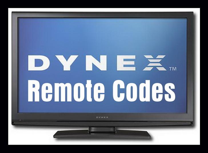 dynex tv remote codes