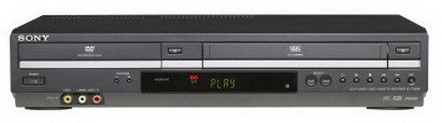 sony dvd vcr combo