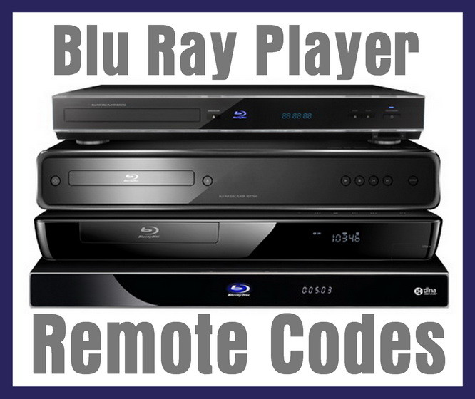Blu ray player remote codes