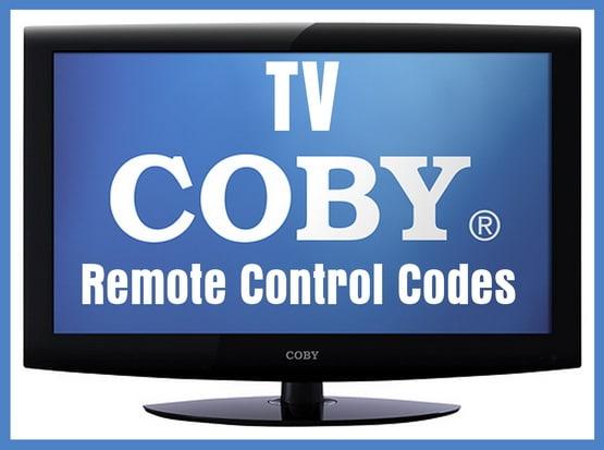 COBY TV Remote Control Codes