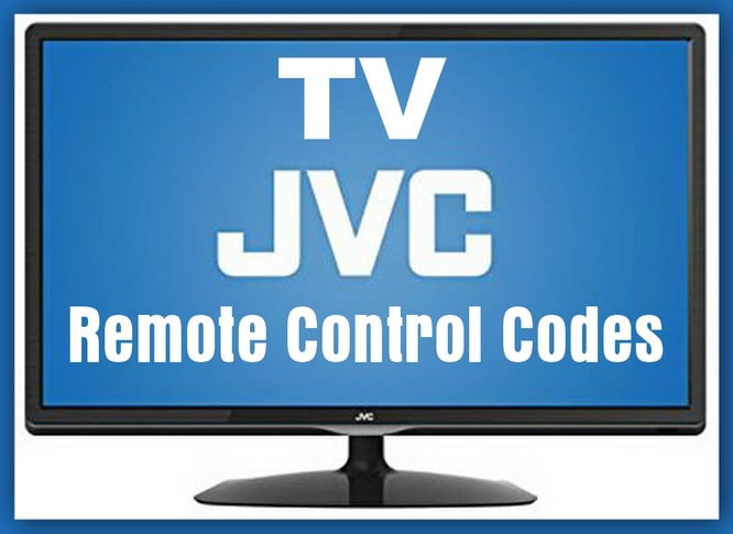 Remote Codes For JVC TV
