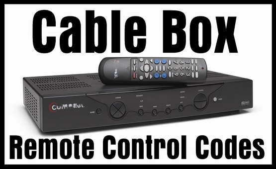 Cable Box Remote Codes