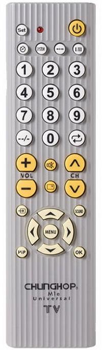 Chunghop Universal Remote Control M1E