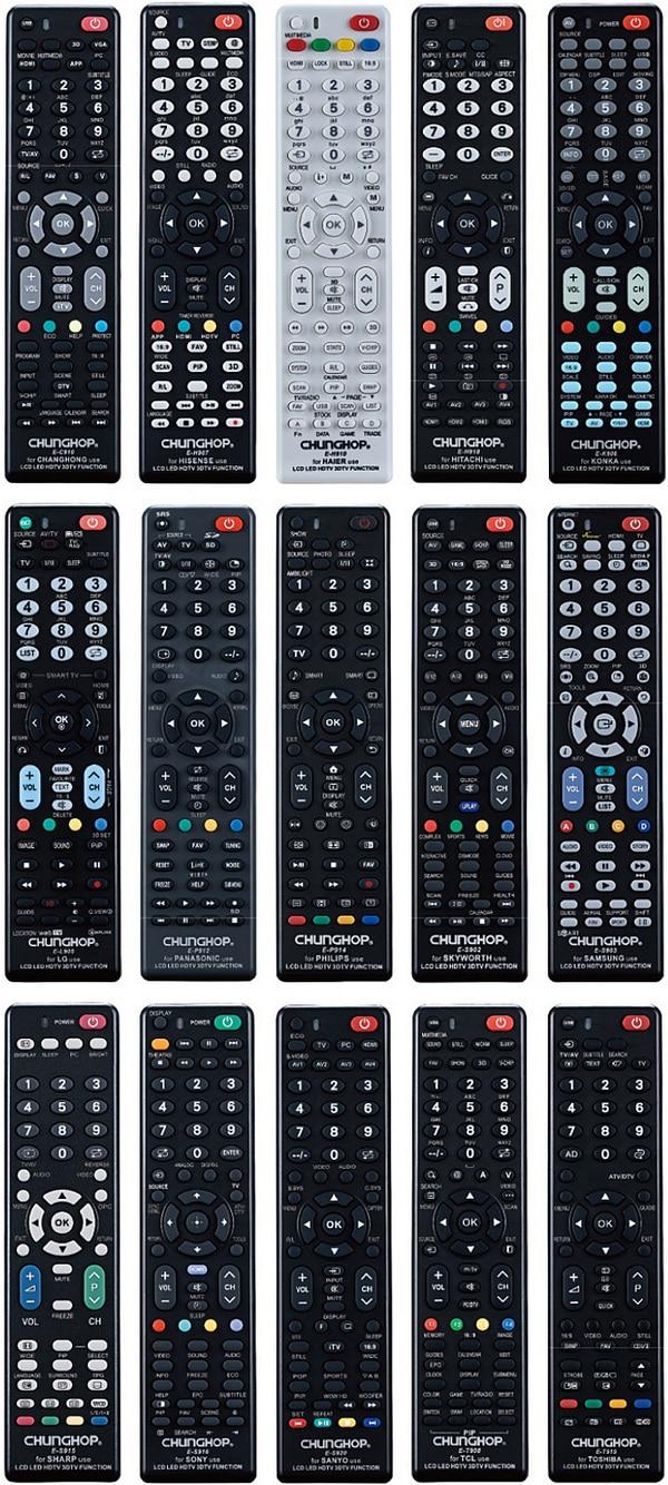 Chunghop universal remote controls