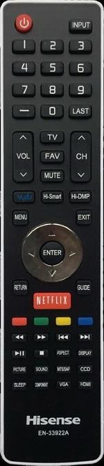 Hisense OEM TV Remote
