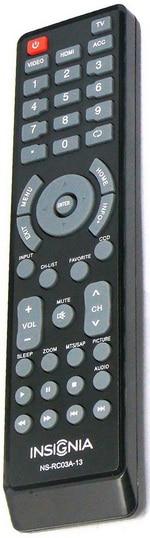 INSIGNIA TV Remote Control OEM Original Part