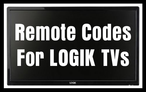 Remote Codes For Logik TVs