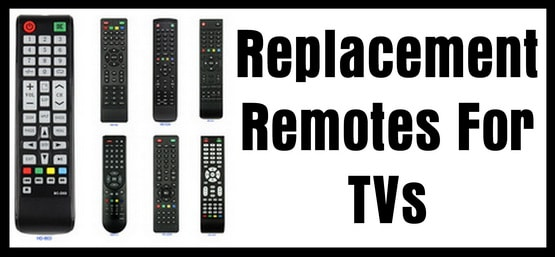 Replacement Remotes For TVs (OEM)