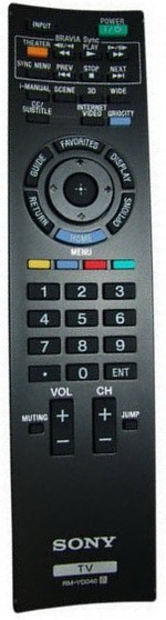 SONY TV Remote Control Replacement