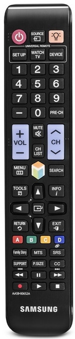 Samsung TV Remote Control with Backlit Buttons