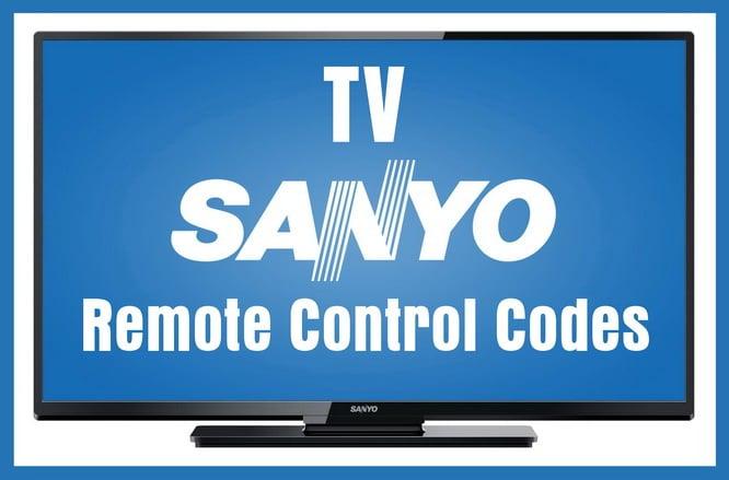 Sanyo TVs - Remote Control Codes