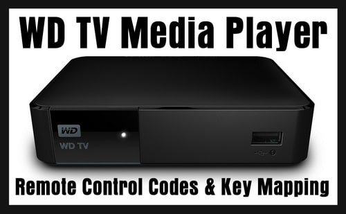 WD TV Media Player Remote Codes