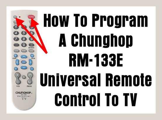 CHUNGHOP RM-133E Universal Remote