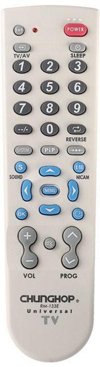 Chunghop RM-133E universal remote control