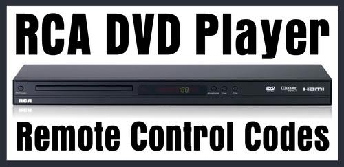 RCA DVD Remote Control Codes