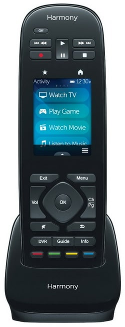 Logitech Harmony Ultimate One IR All In One Remote with Customizable Touch Screen Control