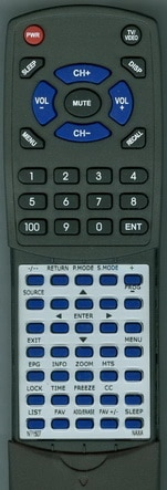 Replacement Remote Control for NAXA NT1507
