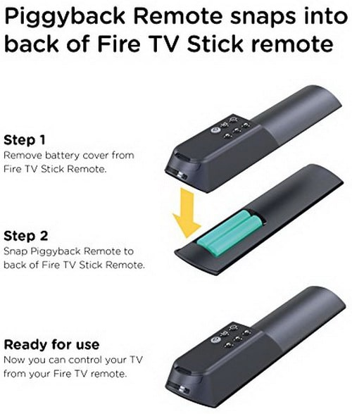 TV Remote Add on for Fire TV Alexa