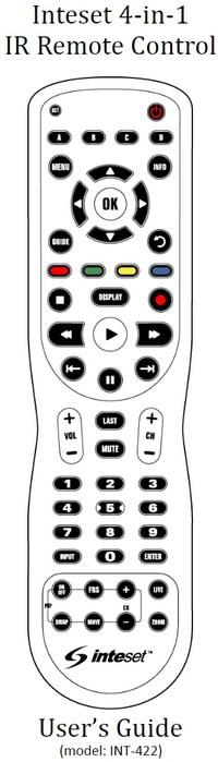 Inteset Remote INT-422