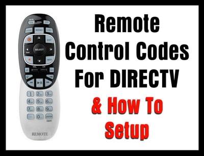 DIRECTV remote to tv