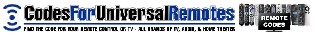 codes for universal remotes desktop logo