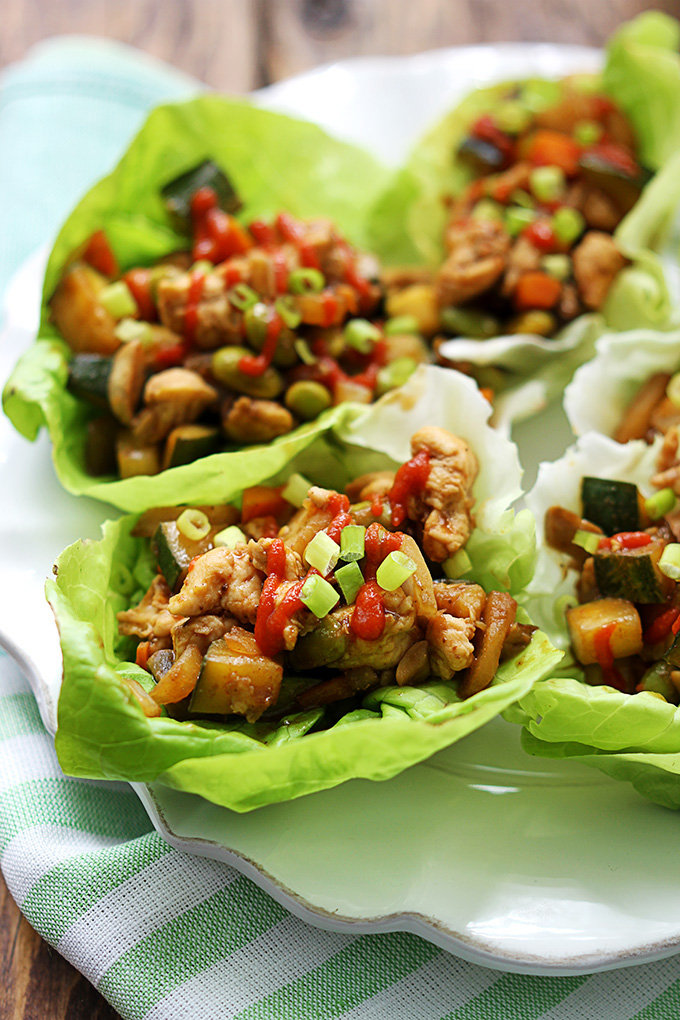 Consumers Financial Company Thai Chicken Wraps