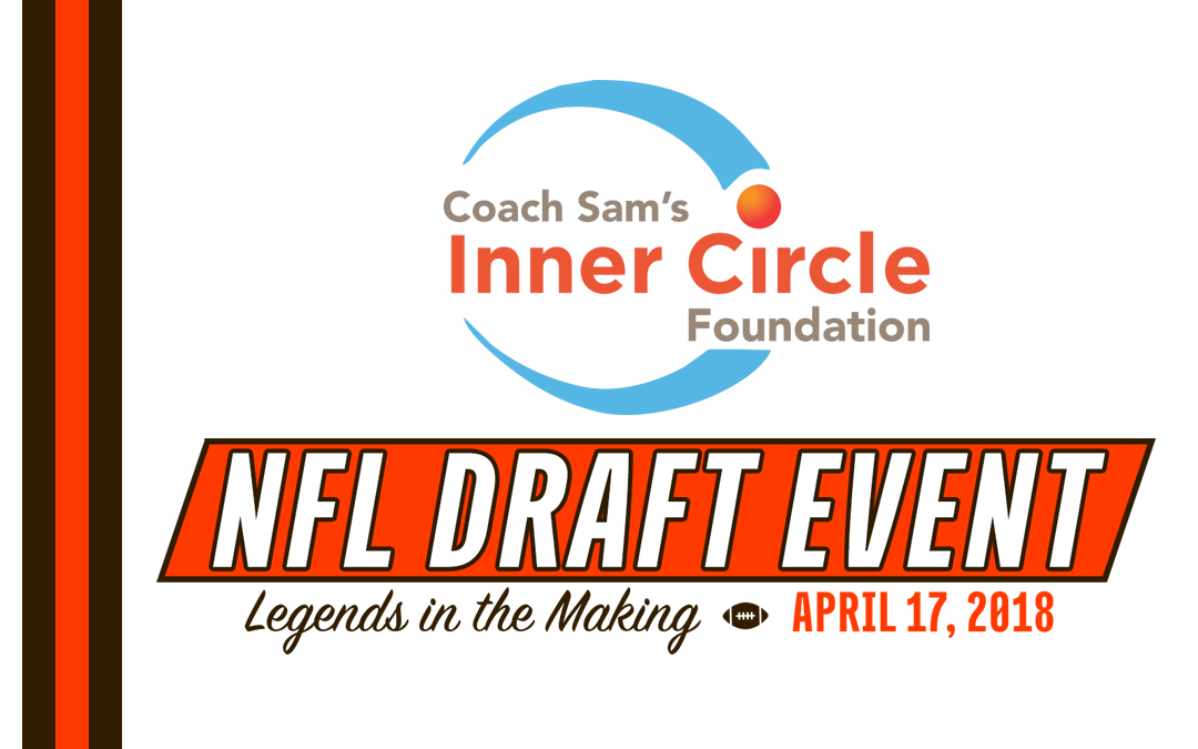 Save The Date for Coach Sam's Annual Cleveland Browns Draft Party!