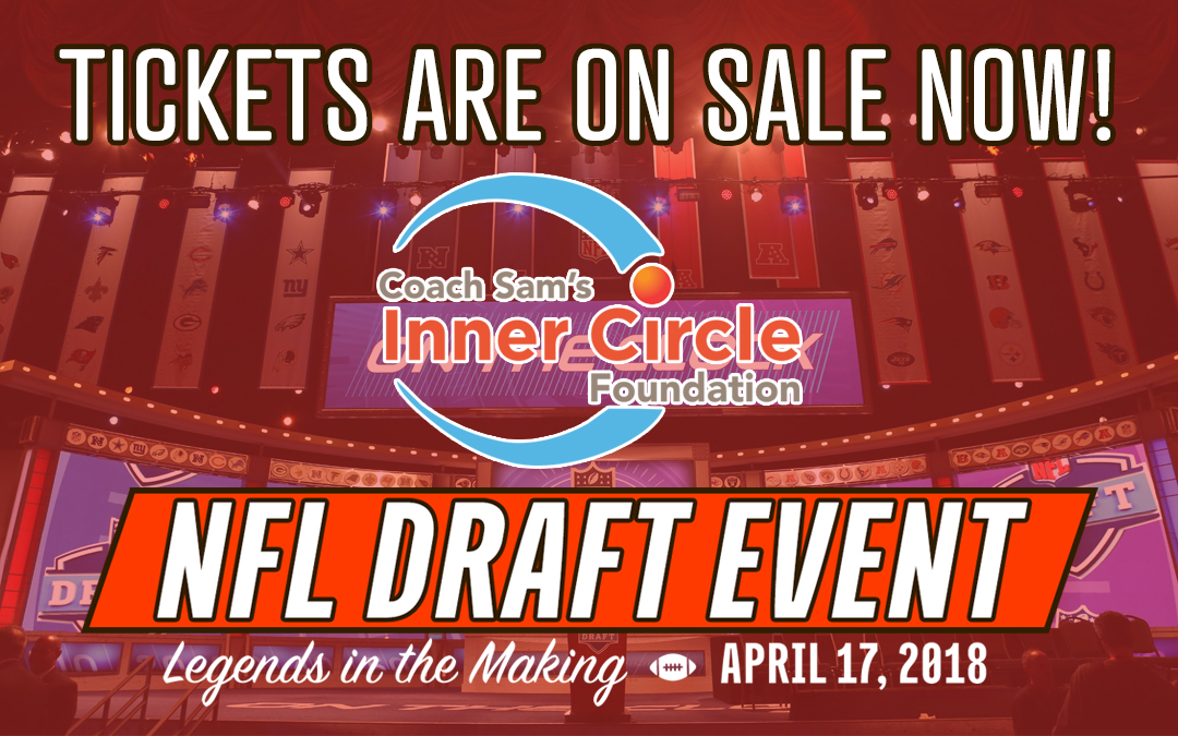 Coach Sam's 2018 NFL Draft Event