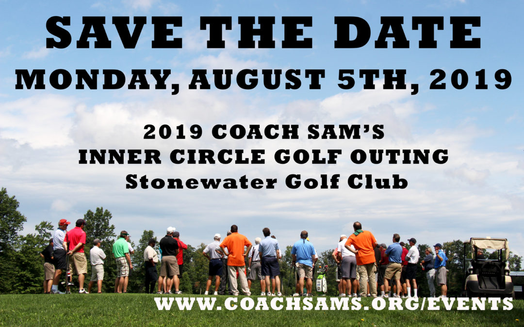 2019 Golf Outing: Save the Date!