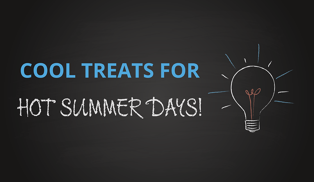 What to do when you want a cool treat on a hot summer day?