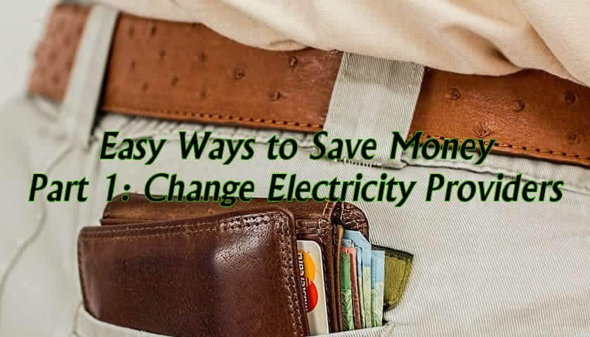 Save money on your electricity bill