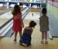 birthday bowling party