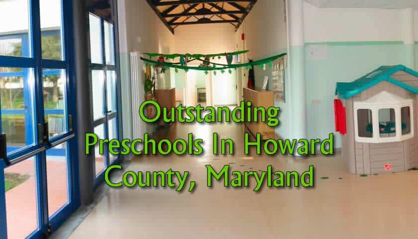The Best Preschools in Howard County Md
