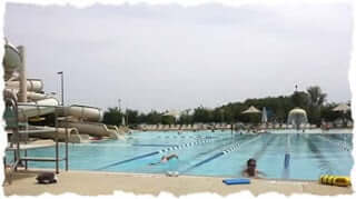 lifetime fitness outdoor swimming pool