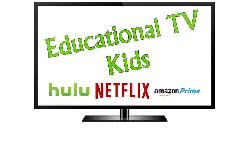 Recommended educational tv shows on Netflix, Amazon Prime, and Hulu.