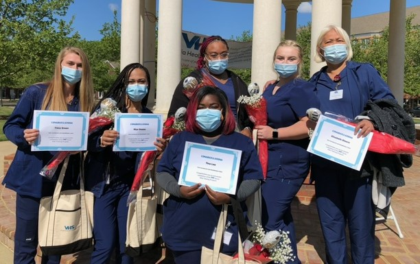 First class of Virginia Health Services apprentices graduates