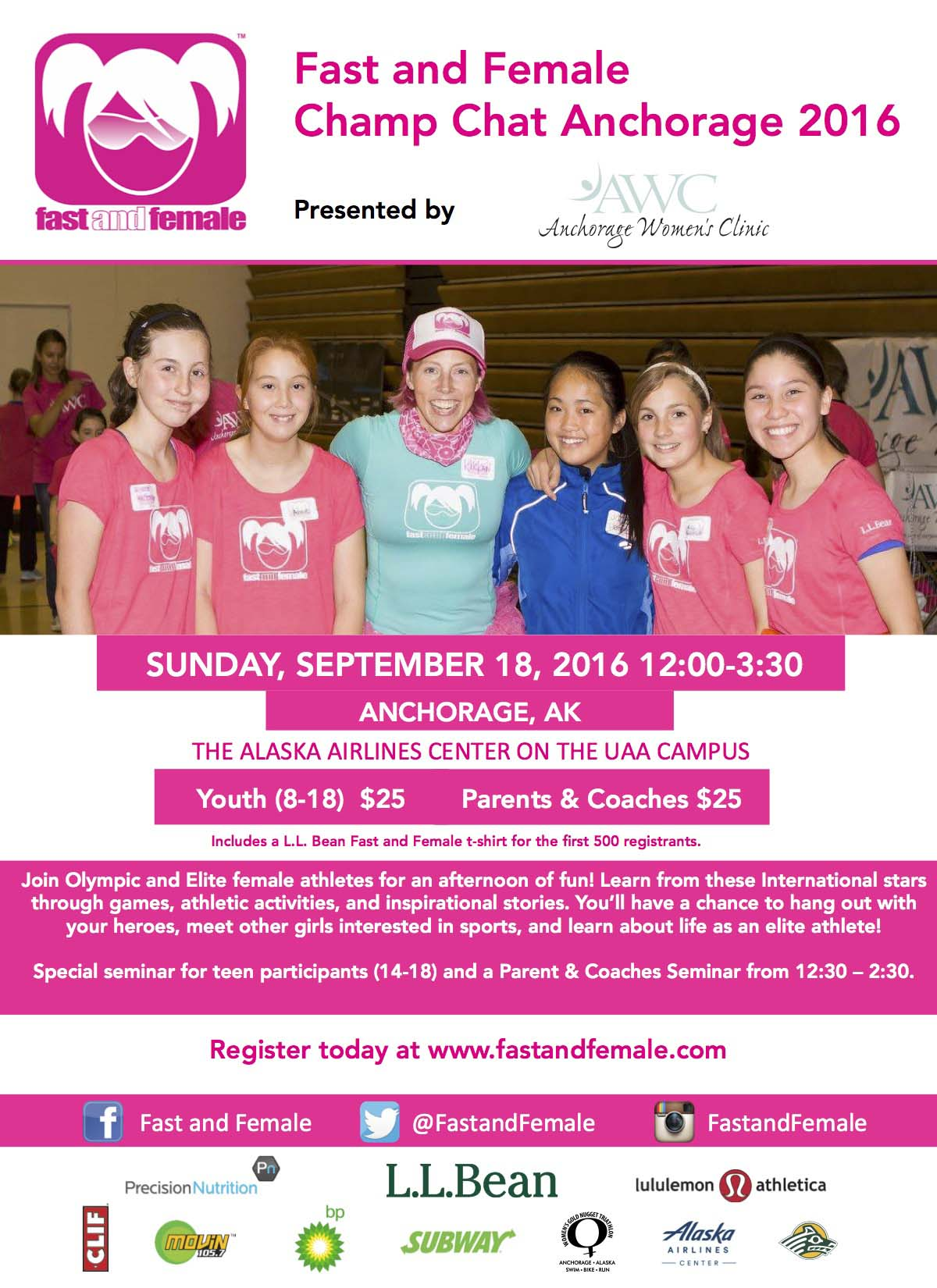 Calling all Anchorage-area Alaskan girls ages 8-18