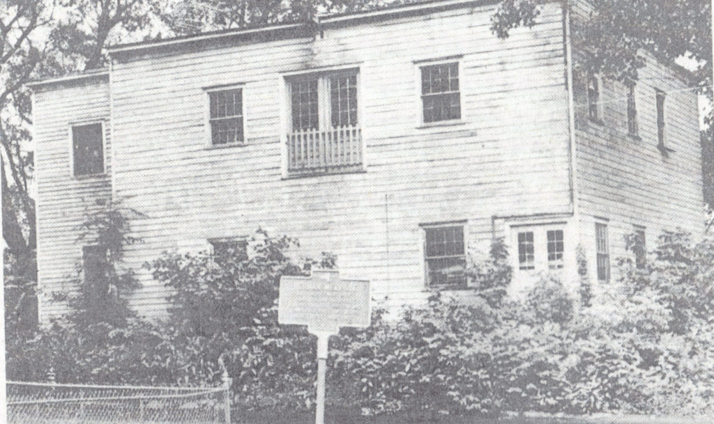 Photo of cabinet maker's or carpenter's shop town down for Herman Melville Park