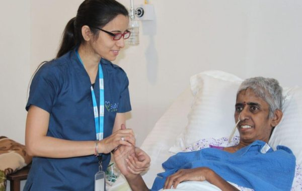 SuVitas Staff Care Taking the Patient
